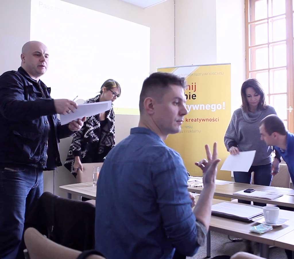 Warsztaty firmowe Akademia Kreatywności